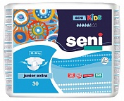 Подгузники Seni KIDS Junior Extra, 15-30 кг., 30 шт.
