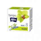 "Тампоны гигиенические Bella Tampo Super ""easy twist"", 8 шт."