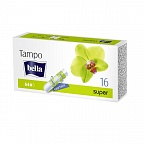 "Тампоны гигиенические Bella Tampo Super ""easy twist"", 16 шт."